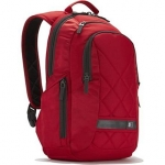 "Case logic DLBP114R Notebook Sporty Backpack/ For 14""/ Polyester/ Red/ Fo"