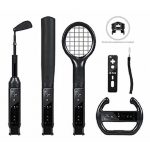 CTA The Grand Slam 6 in 1 Sports Pack for Wii in Black/ Made specifically