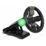 CTA Racing Wheel With Stand For PlayStation Move & DualShock Controllers/