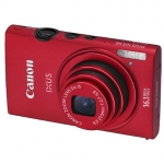 Canon Digital IXUS 125 HS Red, 16.1Mpixel/ 24mm wide/ 5x optical zoom/ IS