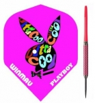 Winmau 1078-23 Playboy 80% Tungsten Darts, pink