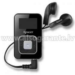 Apacer MP3 PLAYER AU221 8GB BLACK